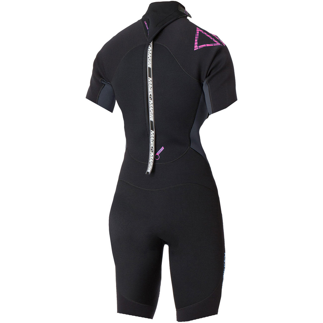 BRAND SHORTY3/2 back-zip | women